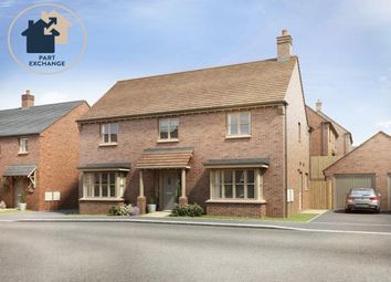 Thumbnail 4 bedroom detached house for sale in The Harrington, Leicester Lane, Great Bowden
