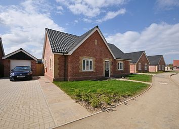 Thumbnail 3 bed detached bungalow for sale in Poppy Grove, Dickleburgh, Diss