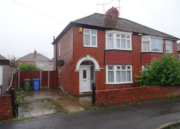 Thumbnail 3 bed semi-detached house to rent in Mount Avenue, Worksop