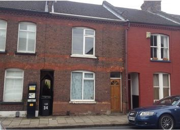 Thumbnail 3 bed terraced house to rent in Frederick Street, Luton, Beds