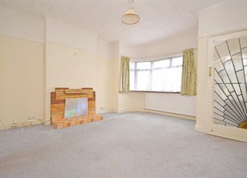 Thumbnail 2 bed semi-detached bungalow to rent in Rosecroft Gardens, Twickenham