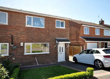 Thumbnail 3 bed semi-detached house for sale in Arnold Close, Castle Gresley, Swadlincote