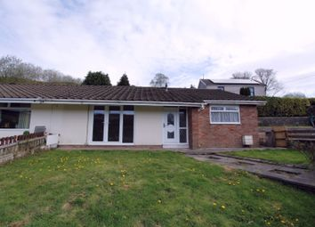 Thumbnail 3 bed semi-detached bungalow for sale in Sandy Bank Road, Ystrad