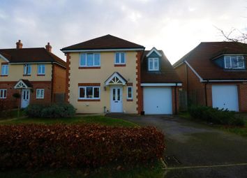 Thumbnail 4 bed detached house to rent in Mytchett, Camberley