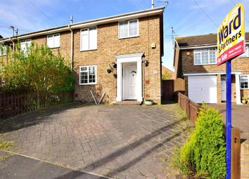 Thumbnail 3 bed end terrace house for sale in Nottingham Walk, Rochester, Kent