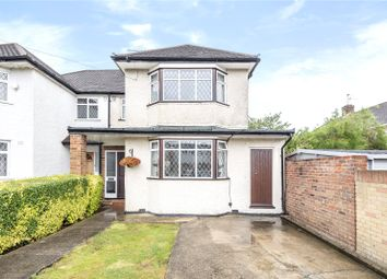 Thumbnail 3 bed semi-detached house for sale in Hunters Hill, South Ruislip, Middlesex