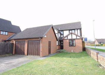 Thumbnail 4 bed detached house for sale in Barnwell Gardens, Wellingborough