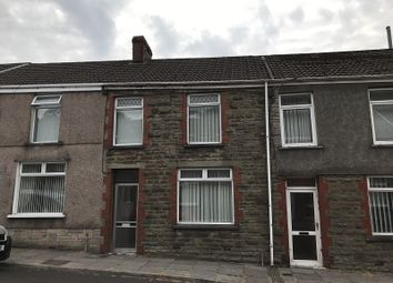 Thumbnail 3 bed terraced house to rent in Humphreys Terrace, Maesteg, Bridgend.