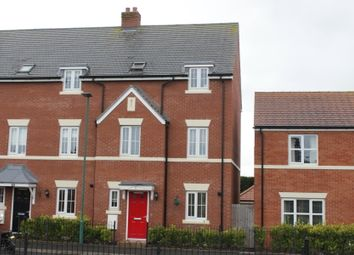 Thumbnail 4 bed town house for sale in Cavell Drive, Shrewsbury