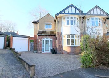 Thumbnail 3 bed semi-detached house for sale in The Grove, Newcastle