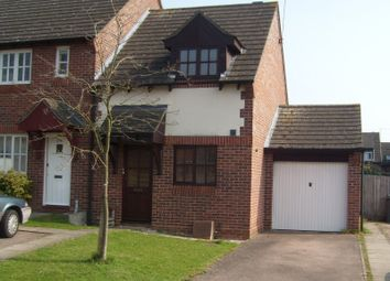 Thumbnail 2 bed property to rent in Euston Close, Bury St. Edmunds