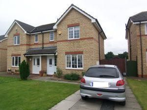 Thumbnail 3 bed semi-detached house to rent in Parkfield, Coxhoe