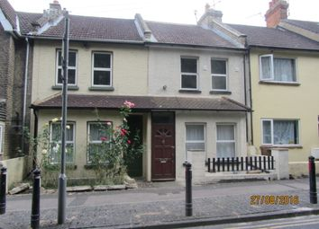 Thumbnail 4 bedroom terraced house to rent in Boundary Road, Chatham, Kent