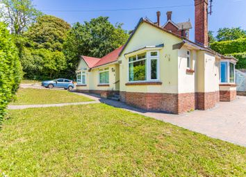 Thumbnail 4 bed detached bungalow for sale in Warwick Road, Lower Parkstone, Poole