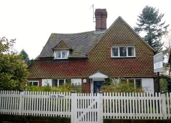 Thumbnail 3 bed detached house to rent in Church Lane, Haslemere
