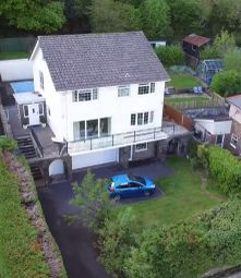 Thumbnail 4 bed detached house for sale in Heol Y Coed, Wyllie, Blackwood