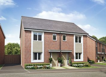 Thumbnail 3 bed end terrace house for sale in Hilton Valley, Hilton, Derby