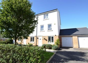 Thumbnail 4 bed end terrace house for sale in Sanderling Place, Portishead, Bristol