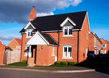 Thumbnail 3 bed detached house for sale in Bramley Drive, Hartley Wintney, Hook