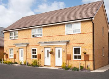 """Thumbnail 2 bed terraced house for sale in """"Kenley"""" at Holme Way, Gateford, Worksop"""