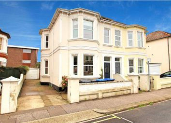 Thumbnail 4 bed semi-detached house for sale in Christchurch Road, Worthing, West Sussex