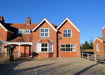 Thumbnail 3 bedroom semi-detached house to rent in Bakery Cottages, Reading Road, Burghfield Common, Reading