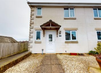 Thumbnail 3 bed semi-detached house for sale in Tennis Court Avenue, Paulton, Bristol