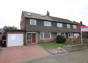 Thumbnail 4 bedroom semi-detached house for sale in Bent Lanes, Urmston, Manchester