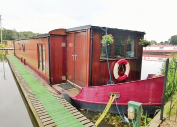 Thumbnail 1 bed houseboat for sale in Fettlers Wharf Marina, Station Road, Rufford, Ormskirk