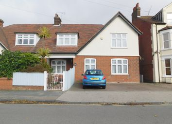 Thumbnail 4 bed semi-detached house for sale in Cobbold Road, Felixstowe