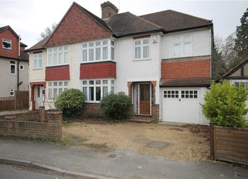 Thumbnail 4 bed semi-detached house for sale in The Grove, Addlestone, Surrey