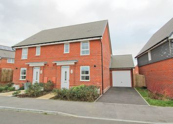 Thumbnail 3 bed semi-detached house for sale in Foxglove Way, Clanfield, Waterlooville