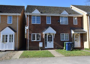 Thumbnail 2 bed end terrace house for sale in Glover Close, Sawston, Cambridge