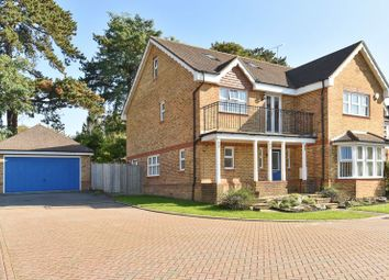 Thumbnail 5 bedroom detached house for sale in Quarry Gardens, Leatherhead