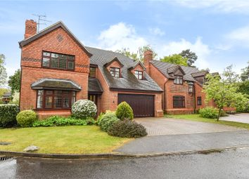 Thumbnail 4 bed detached house for sale in Gilbert Way, Finchampstead, Wokingham, Berkshire