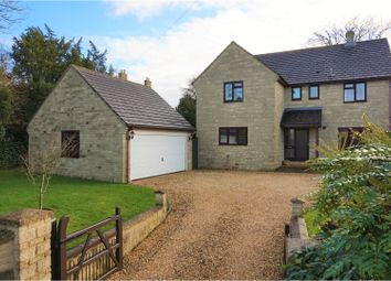 Thumbnail 4 bed detached house for sale in The Street, Brinkworth