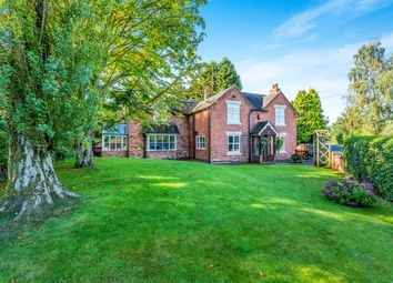 Thumbnail 4 bed detached house for sale in Silver Lane, Marchington, Uttoxeter