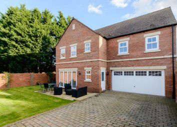 Thumbnail 5 bed detached house for sale in Willow Grove, Thirsk