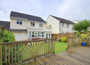 Thumbnail 4 bed semi-detached house for sale in Hawthorn Road, Barnstaple