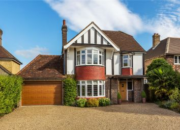 Thumbnail 4 bed detached house for sale in Blackborough Road, Reigate, Surrey