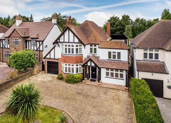 Thumbnail 6 bed detached house for sale in Southway, Carshalton