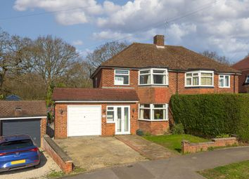Thumbnail 3 bed semi-detached house for sale in The Greenway, Epsom