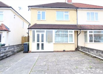 Thumbnail 3 bedroom semi-detached house for sale in Llanbedr Road, Fairwater, Cardiff