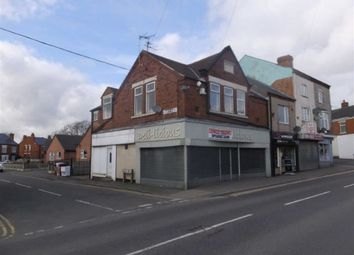 Thumbnail Retail premises for sale in 77 / 77A, High Street, South Normanton, Derbys
