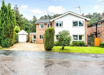 Thumbnail 5 bed detached house for sale in Fern Close, Camberley