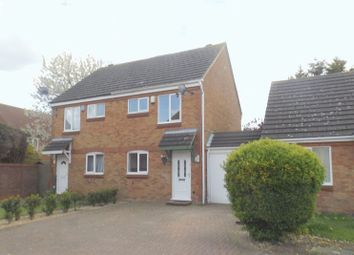 Thumbnail 2 bed semi-detached house for sale in Bradfield Close, Rushden