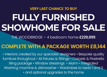 """Thumbnail 4 bed detached house for sale in """"The Woodbridge Detached"""" at Browney Lane, Browney, Durham"""