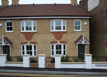 Thumbnail 3 bed semi-detached house to rent in Station Approach, East Horsley, Leatherhead