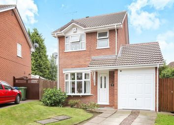 Thumbnail 3 bed detached house for sale in Fowler Close, Perton, Wolverhampton