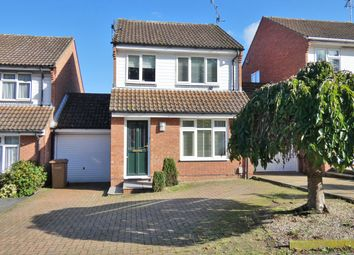 Thumbnail 3 bed detached house for sale in Milden Road, Ipswich, Suffolk